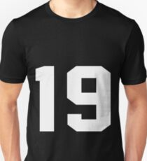 Team Jersey 19 T-shirt / Football, Soccer, Baseball Unisex T-Shirt