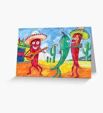 Hot Saloon  Greeting Card