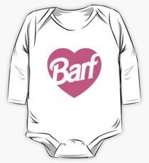 Barf Heart  One Piece - Long Sleeve