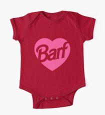 Barf Heart  One Piece - Short Sleeve