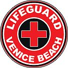 LIFEGUARD VENICE BEACH California Surf Surfer Surfboard Waves Ocean Beach Vacation by MyHandmadeSigns