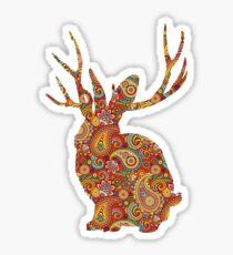 The Paisley Rabbit Sticker