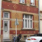 Decorative brick facade - Luxembourg by bubblehex08