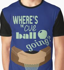 Where's the cue ball going? Graphic T-Shirt
