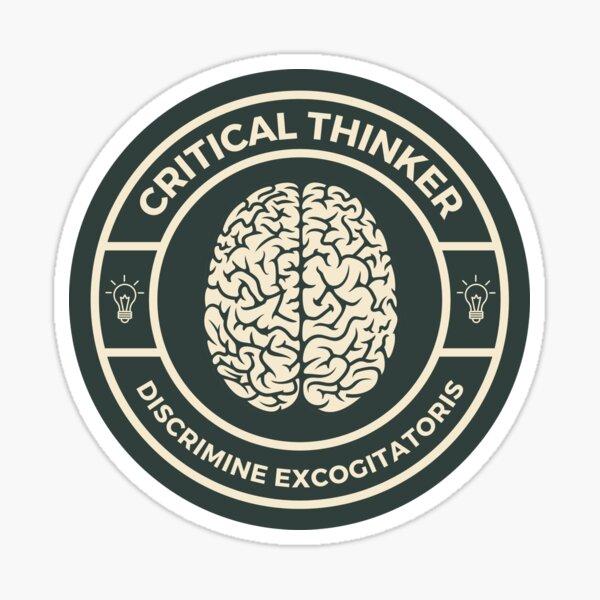 Critical Thinker Sticker