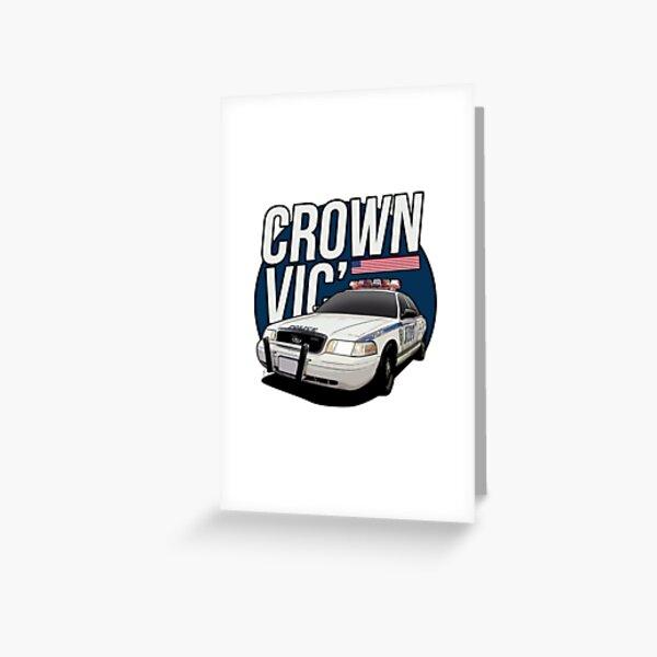 Ford Crown Victoria Police - Police car / CVPI Greeting Card