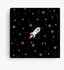 The little rocket that could Canvas Print