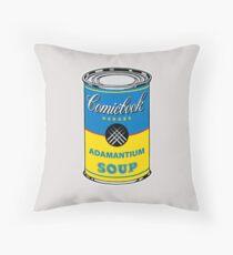Adamantium Soup Throw Pillow