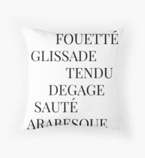 It's All French To Me Throw Pillow