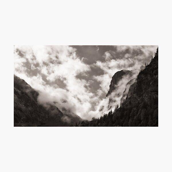 Rappenspitze After Rain Falls Photographic Print