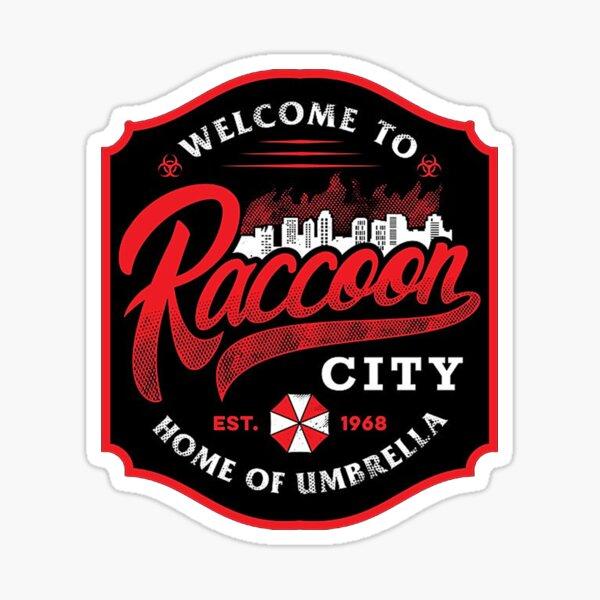 Bienvenido a Raccoon City Pegatina