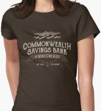 Commonwealth Savings Bank of MacCready Women's Fitted T-Shirt