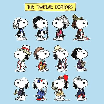 Snoopy Doctors Collage by DoggieDog