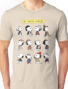 Snoopy Doctors Collage Unisex T-Shirt