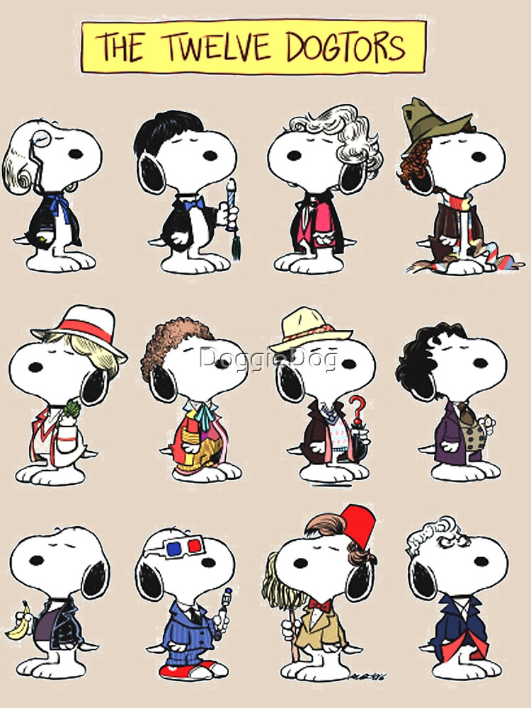 Snoopy Doctors Collage | Unisex T-Shirt