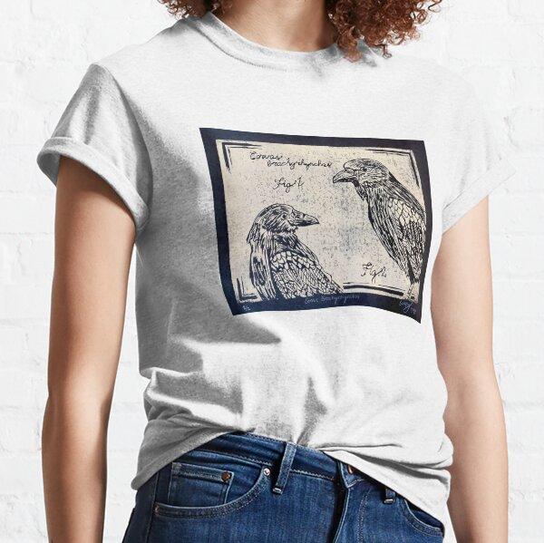 Corvus- printmaking, Cordelia Perry Classic T-Shirt