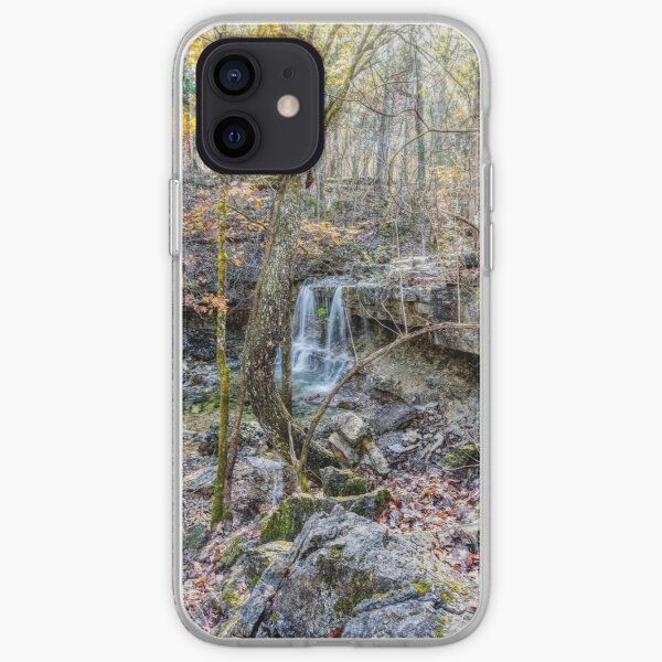 Henning Waterfall In The Woods iPhone Soft Case