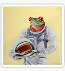 Frog Mission Sticker