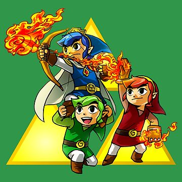 Legend of Zelda Triforce All Character by DoggieDog