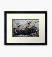 slope surfin' Framed Print