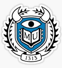 Monsters University Logo Sticker