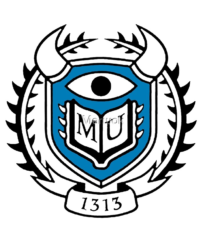 "monsters university logo"" mini skirtsmerwok 