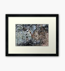when your gone.. Framed Print