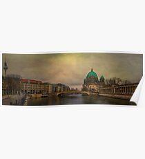 Berliner Dom Panorama Poster