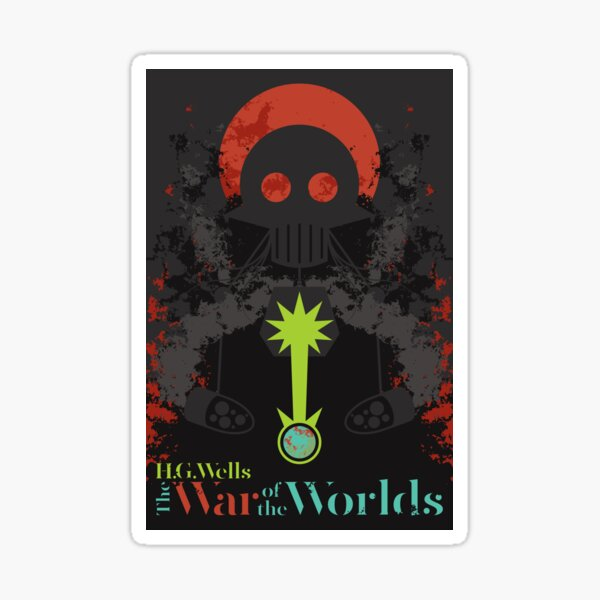 The War of the Worlds Sticker
