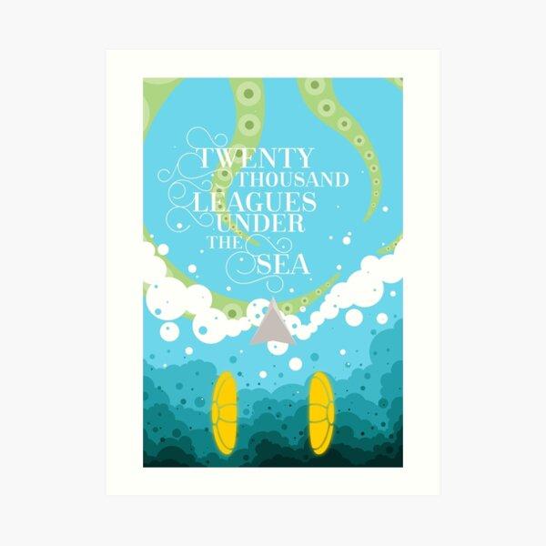 Twenty Thousand Leagues Under the Sea Art Print
