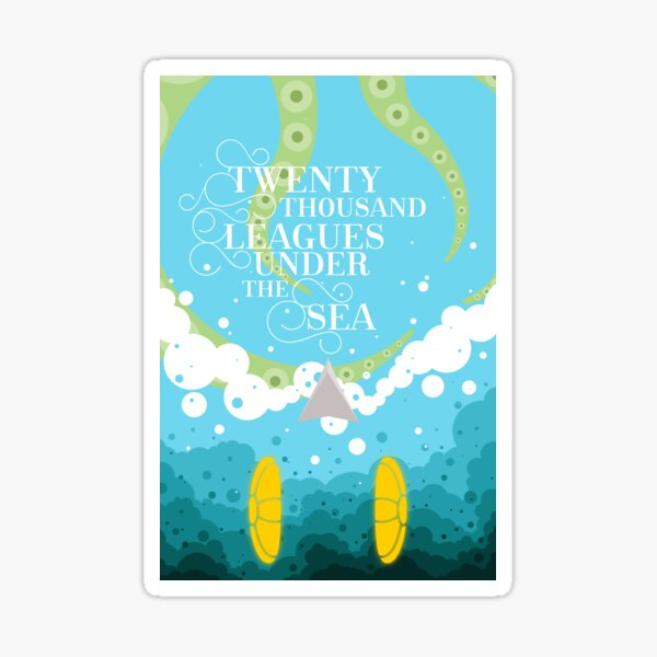 Twenty Thousand Leagues Under the Sea Sticker