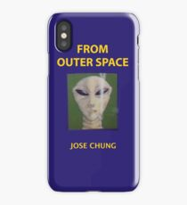 Jose chung from outer space x-files iPhone Case/Skin