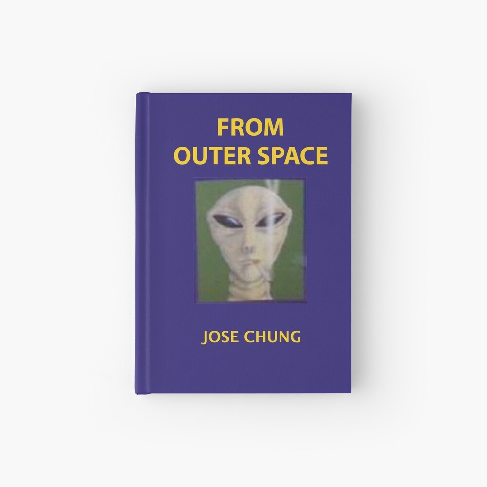 Jose chung from outer space x-files Hardcover Journal