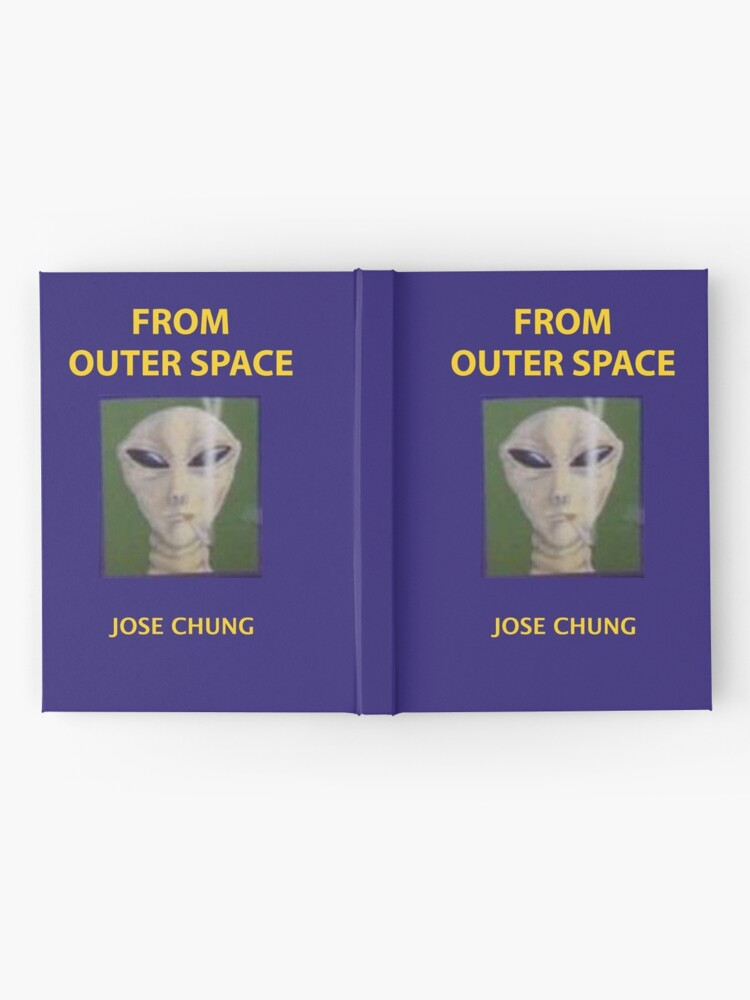 Alternate view of Jose chung from outer space x-files Hardcover Journal