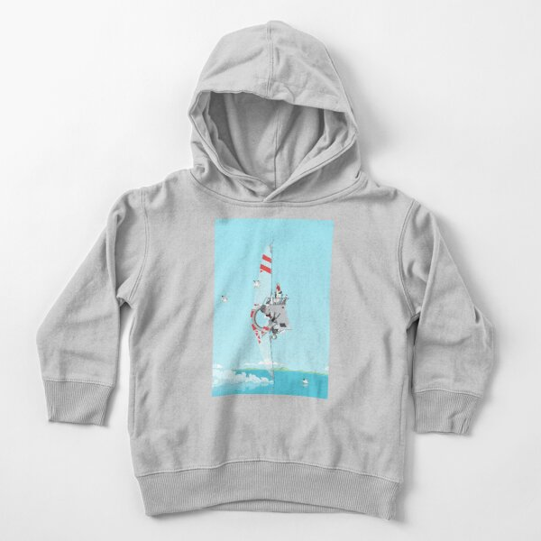 Fin Ship Toddler Pullover Hoodie