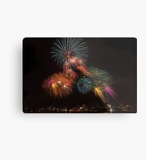 Happy Technicolor 4th Metal Print