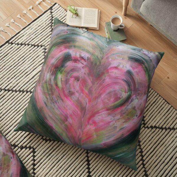 Heart Chakra Energy Floor Pillow