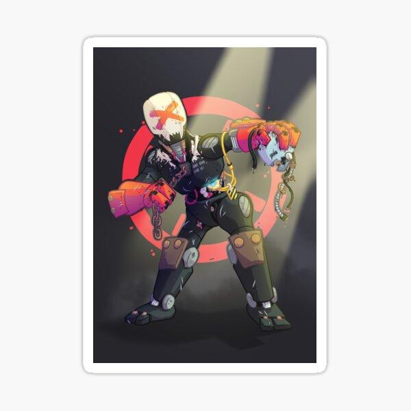 Bot Fighter Sticker