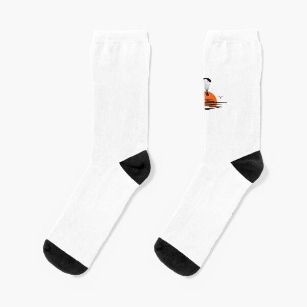 Paramotor Sunset Socks