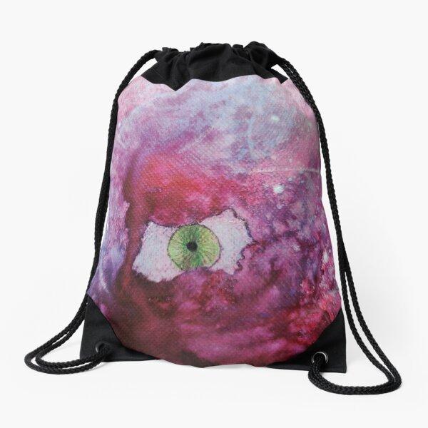 Cosmic Eye Drawstring Bag