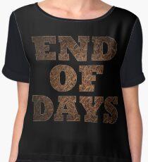 End Of Days (Rust) Women's Chiffon Top
