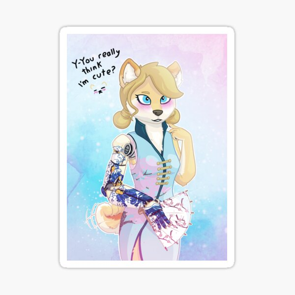 Cute Shiba Sticker