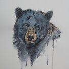 Big black bear. by Astrid de Cock