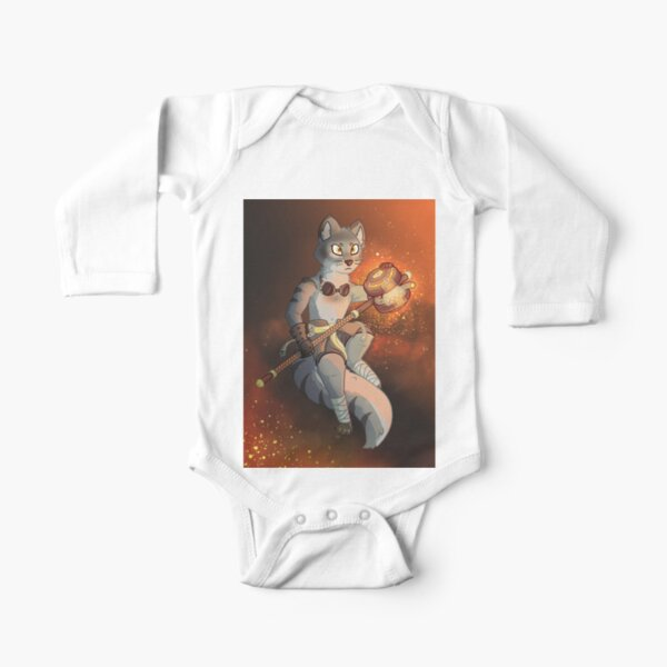 Forge Hammer Long Sleeve Baby One-Piece