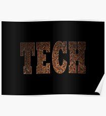 Tech (Rust) Poster