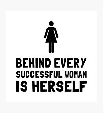 Successful Woman Photographic Print
