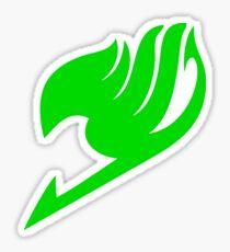 Fairy Tail Logo (Green) Sticker