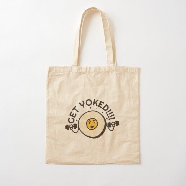 Get Yoked Cotton Tote Bag