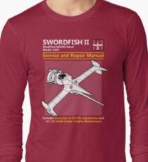 Swordfish Service and Repair Manual Long Sleeve T-Shirt