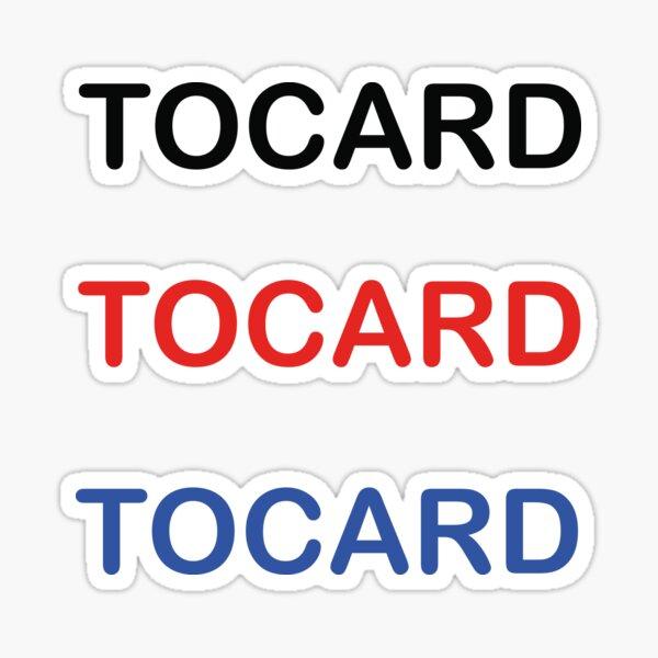 TOCARD sticker Sticker